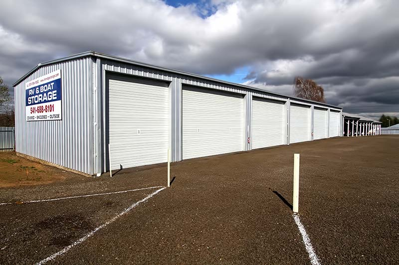 Delicieux Fully Enclosed Storage Buildings For The Ultimate In Protection.